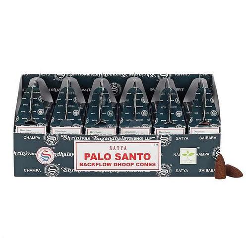 Palo Santo backflow incence cones