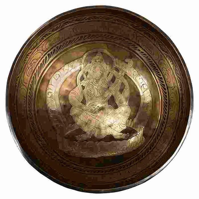 Bol Chantant Tibétain Saraswati 27 cm