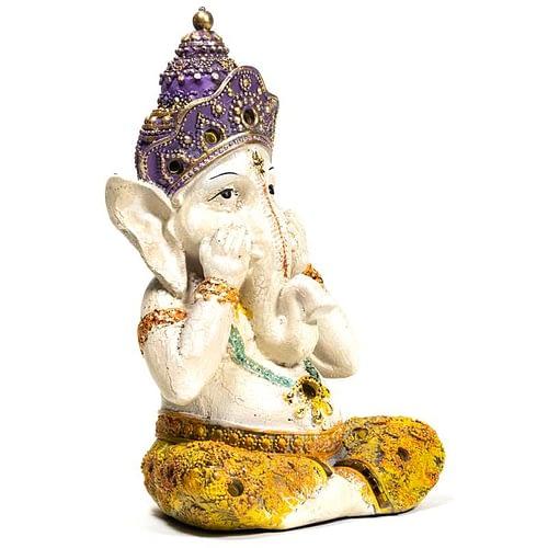 Yoga Ganesh statue