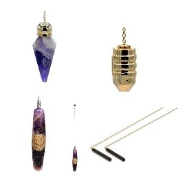 Radiesthésie - pendules, baguettes de sourcier