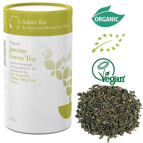 Solaris Organic Jasmine Green Tea loose tea