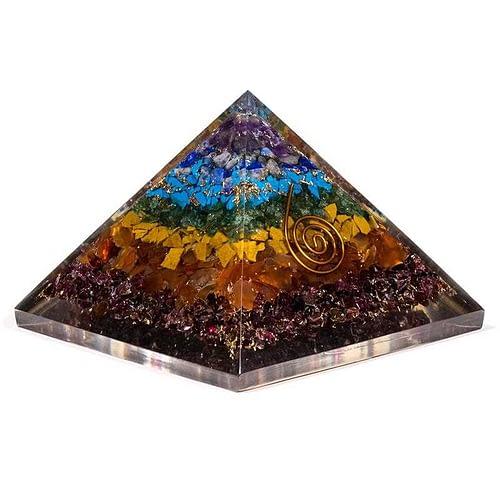 Orgonite Pyramid 7 Chakras