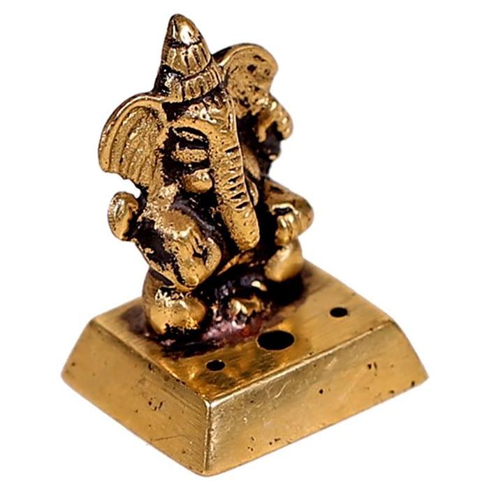 Incence burner Ganesha brass