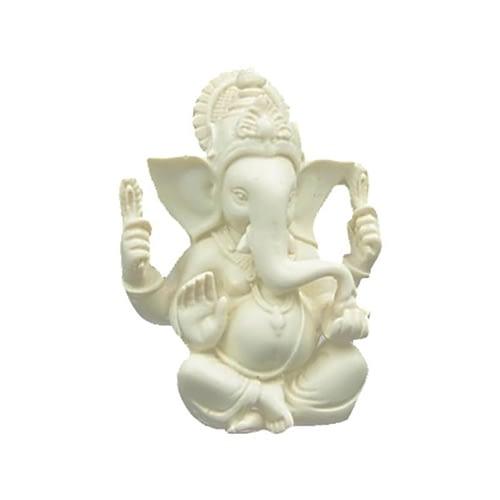 Ganesh statue white