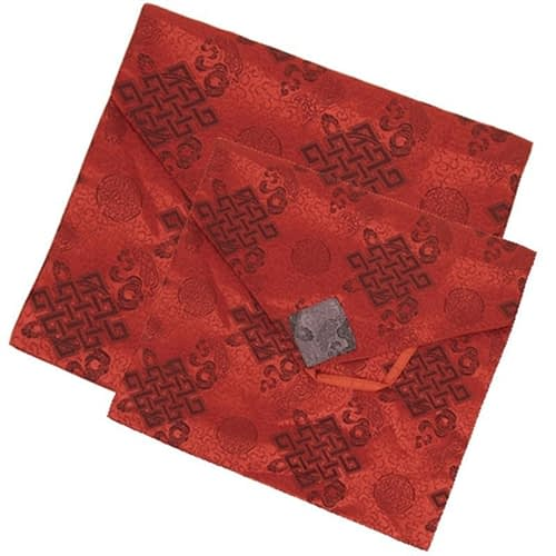 Brocate cover for diary or book red big
