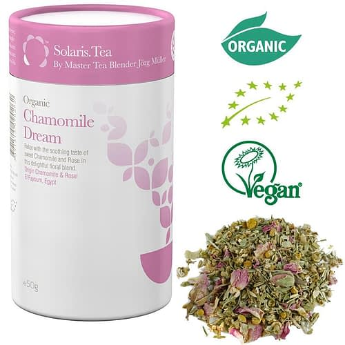Solaris Organic Camomile Dream whole leaf infusion