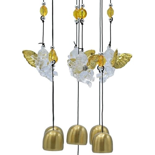 Wind chime with five angels