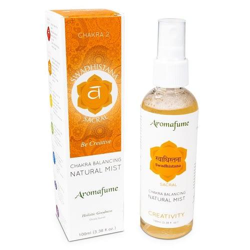 Aromafume natuurlijke luchtverfrisser 2e chakra 3 stuks