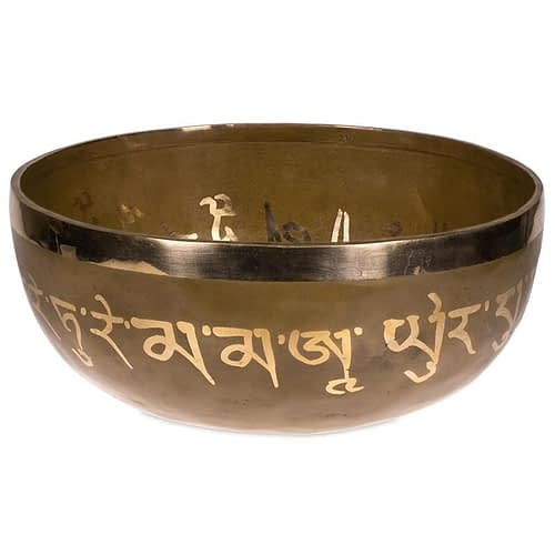 Tara Buddha Healing Singing Bowl 24 cm