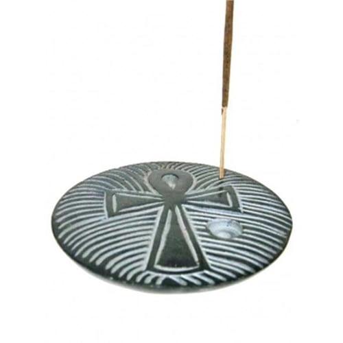 Brûle encens Ankh bâtons/cônes pierre à savon