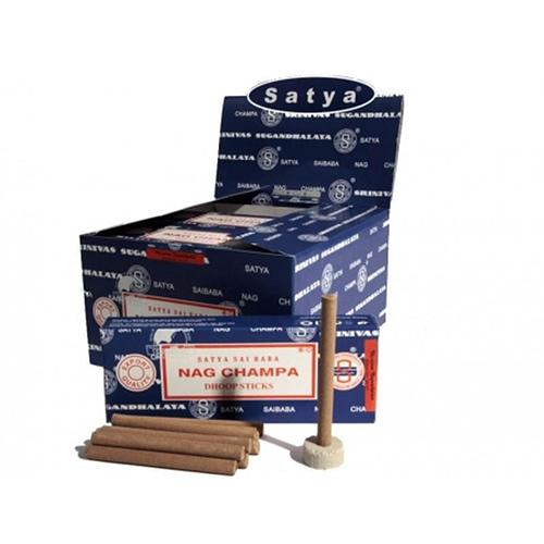 Incense Satya Nag Champa Dhoop 12x10 sticks